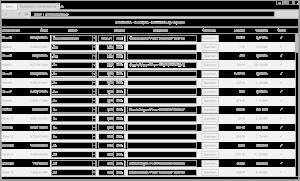 Schema der Fernauslesesoftware in einem Browser